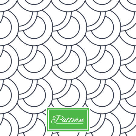 Circles texture. Stripped geometric seamless pattern. Modern repeating stylish texture. Abstract minimal pattern background. Vector