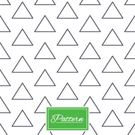 Triangles lines texture. Stripped geometric seamless pattern. Modern repeating stylish texture. Abstract minimal pattern background. Vector Illustration