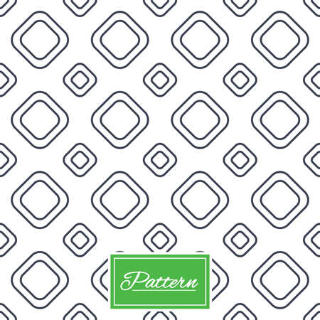 Square tiles lines texture. Stripped geometric seamless pattern. Modern repeating stylish texture. Abstract minimal pattern background. Vector Çizim