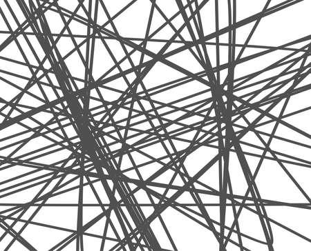 무작위 라인 배경. 추상 줄무늬 또는 형상 패턴입니다. 일러스트