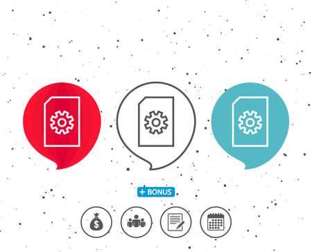 Speech bubbles icon. Çizim