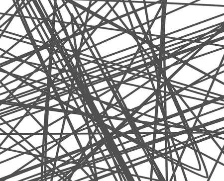 ランダムな行のバック グラウンド。抽象的なストライプや幾何学模様。