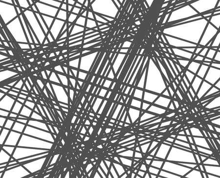 ランダムラインの背景。抽象ストライプまたは幾何学的パターン。