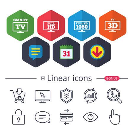 TV mode icon. 版權商用圖片 - 90245090