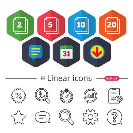 Different linear design icon.