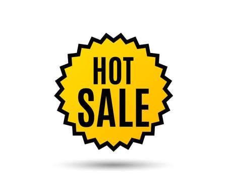 Hot sale graphic icon. Ilustrace