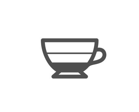 Americano coffee icon. Hot drink sign. Beverage symbol. Quality design elements. Classic style. Vector