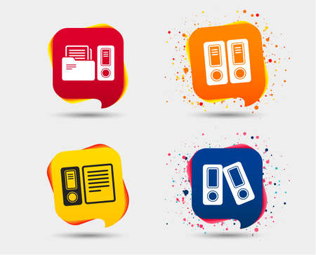 Accounting related icons.