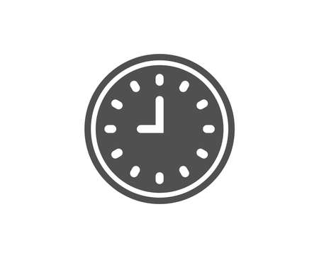 Clock simple icon. Çizim