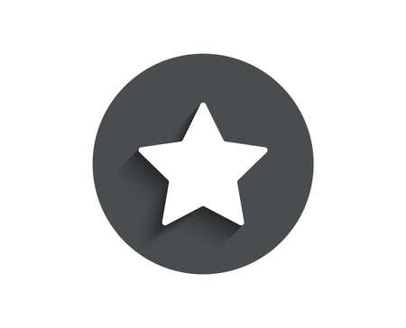スターシンプルなアイコン。ベストランクサイン。ブックマークまたはお気に入りの記号。  イラスト・ベクター素材