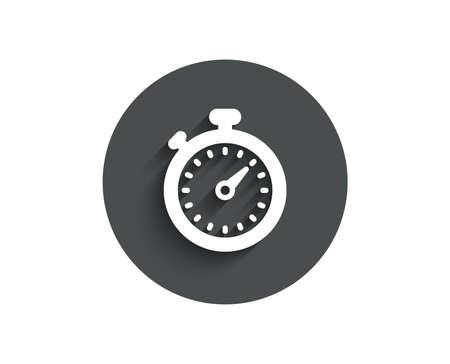 Temporizador simple icono. Símbolo de cronómetro Señal de gestión del tiempo. Foto de archivo - 98944568