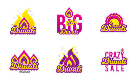 Diwali festival banner. Big sale hindu festive shopping flyer. Indian rangoli sale concept. Deepavali or diwali festival of lights. Happy Indian holiday shopping. Creative vector