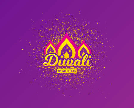 Diwali festival greeting card. Hindu festive modern background. Indian rangoli concept. Deepavali or diwali festival of lights. Happy Indian holiday. Vector