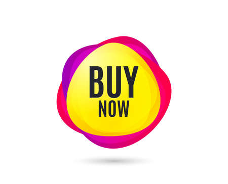 Buy Now. Special offer price sign. Advertising Discounts symbol. Gradient sales tag. Abstract shopping banner. Template for design. Buy now vector 版權商用圖片 - 125986129