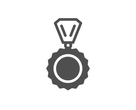 Award Medal icon. Winner achievement symbol. Glory or Honor sign. Quality design element. Classic style icon. Vector