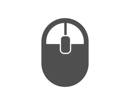 Ð¡omputer Mouse icon. Internet surf device sign. PC equipment symbol. Quality design element. Classic style icon. Vector