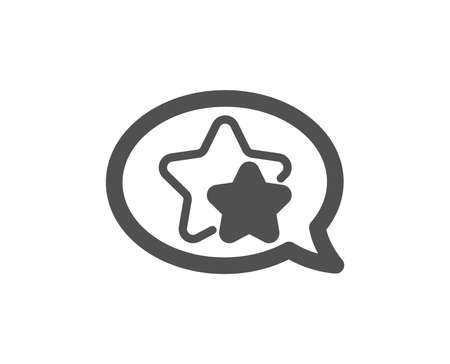 Stars icon. Favorite sign. Positive feedback symbol. Quality design element. Classic style icon. Vector