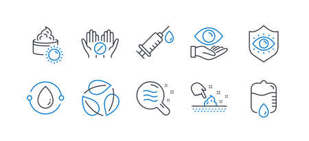 Set of Healthcare icon Ilustracja