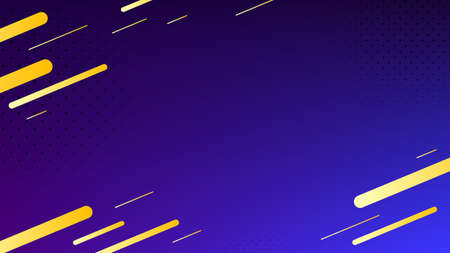Blurred background. Geometric shapes. Abstract purple and blue gradient design. Dynamic shapes background. Landing page blurred cover. Geometric template banner. Vector Illustration