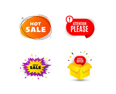 Banner badge. Special offer discount tags. Coupon sale shape templates. Cyber monday sale discounts. Black friday shopping icons. Best ultimate offer badge. Super discount icons. Vector banners 版權商用圖片 - 131047923