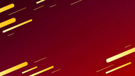 Blurred background. Geometric shapes. Abstract red gradient design. Dynamic shapes background. Landing page blurred cover. Geometric template banner. Vector