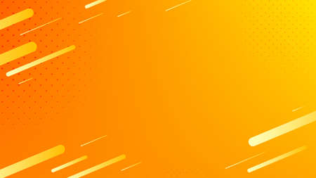 Blurred background. Geometric shapes. Abstract orange and yellow gradient design. Dynamic shapes background. Landing page blurred cover. Geometric template banner. Vector 向量圖像
