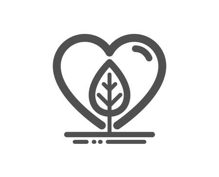 Organic tested sign. Local grown icon. Fair trade symbol. Classic flat style. Simple local grown icon. Vector 向量圖像
