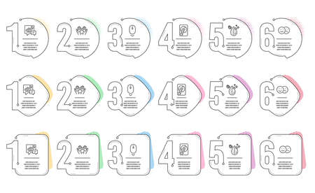 Scroll down, Ranking and Accounting line icons set. Infographic timeline. Like, Dirty water and Hdd signs. Mouse swipe, Hold star, Supply and demand. Social media dislike. Technology set. Vector
