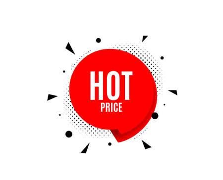 Hot Price. Banner badge, offer sticker. Special offer Sale sign. Advertising Discounts symbol. Hot price banner. Sticker badge. Vector
