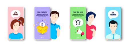 Vitamin e, Sun protection and Skin care icons simple set. People on phone screen. Uv protection sign. Oil drop, Ultraviolet care, Face cream. Skin cream. Beauty set. Vector