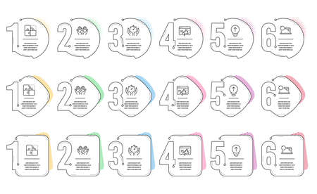 Swipe up, Recovery laptop and Timer line icons set. Infographic timeline. Puzzle, Medical tablet and Seo marketing signs. Scrolling page, Backup data, Deadline management. Engineering strategy. Vector