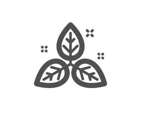 Bio cosmetics sign. Fair trade icon. Organic tested symbol. Classic flat style. Simple fair trade icon. Vector