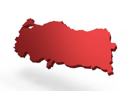 anatolian: turkey map