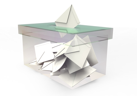 3D isolate the ballot box color