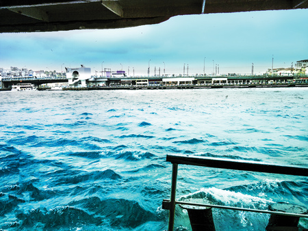 Sea background unit isolate