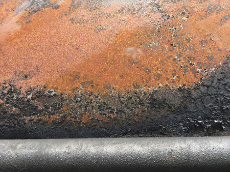 sheet metal: Rusty metal Background unit isolate