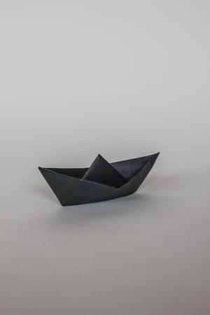 paper ship background pattern