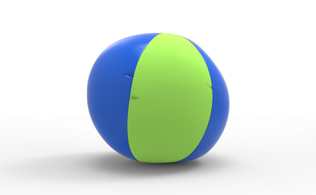 sea ball 3D isolate background