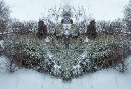 outdoors snow isolate background Stok Fotoğraf - 132405235