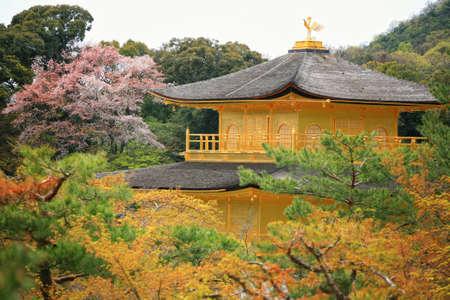 Kinkakuji Temple - Temple of the Golden Pavilliom Editorial