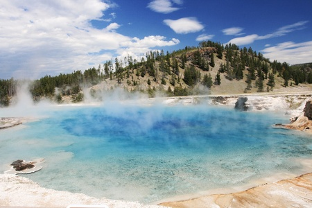 prismatic: Grand Prismatic Spring a Yellowstone