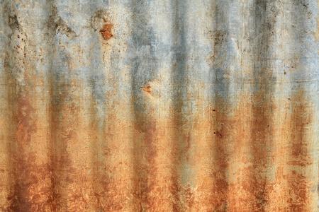Textura de fondo: patrón de grunge de zinc oxidado Foto de archivo - 11890284