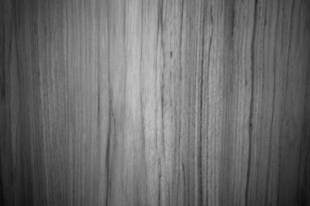 Black and white texture of wood pattern background  photo