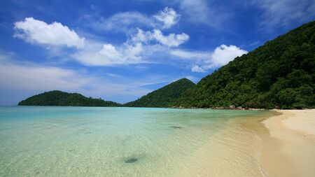 Island paradise at Surin national park in Thailand photo