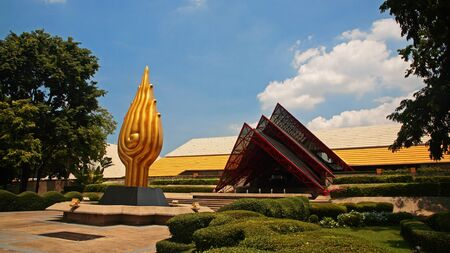 Queen Sirikit National Convention Center in Bangkok, Thailand Stock Photo