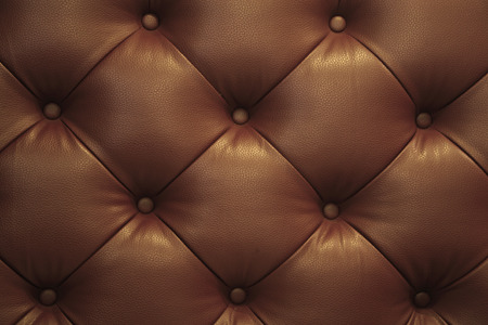 brown backgrounds: Vintage brown leather Sofa Button for textured background