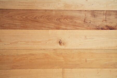 textured wall: new wooden wall for textured pattern Stock Photo