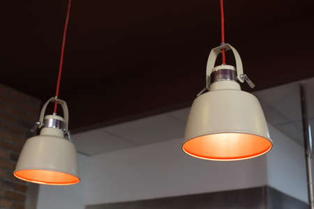 interior lighting: Hanging lamps interior for Restaurant lighting decoration