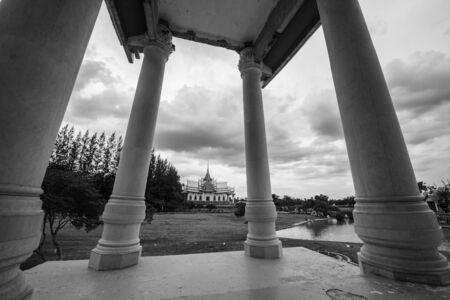 ratchasima: Wat Sorapongs Temple architecture in Nakhon Ratchasima or Korat Province, Thailand