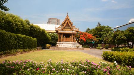 benjakitti: Thai craving  pavilion at Benjakitti park in Bangkok, Thailand